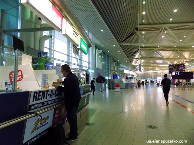 аеропорт софія прокат авто